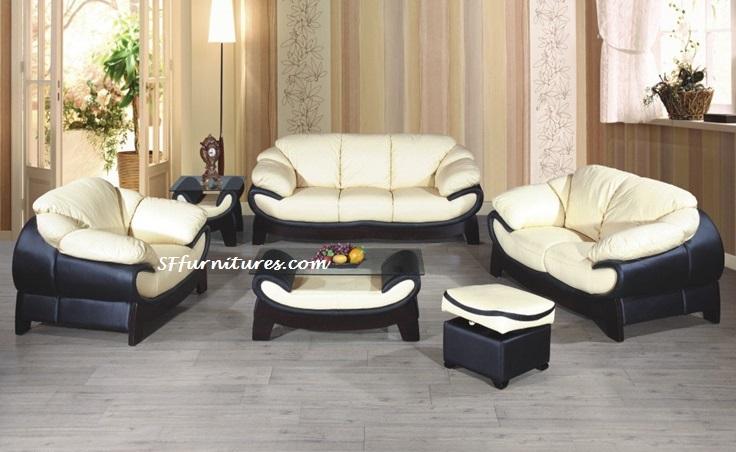 Bella Italian Design Leather Sofa