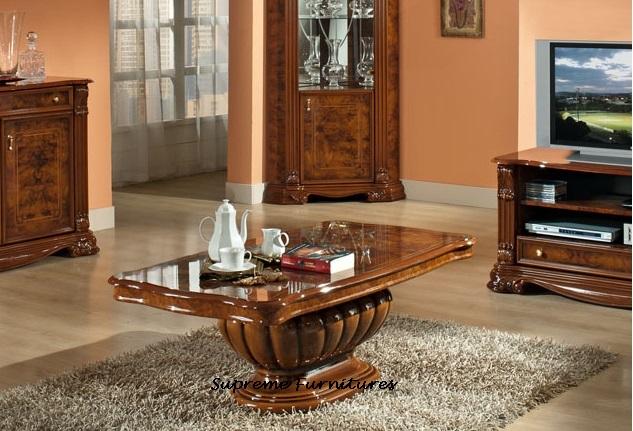 Elizabeth Italian Coffee Table Collection