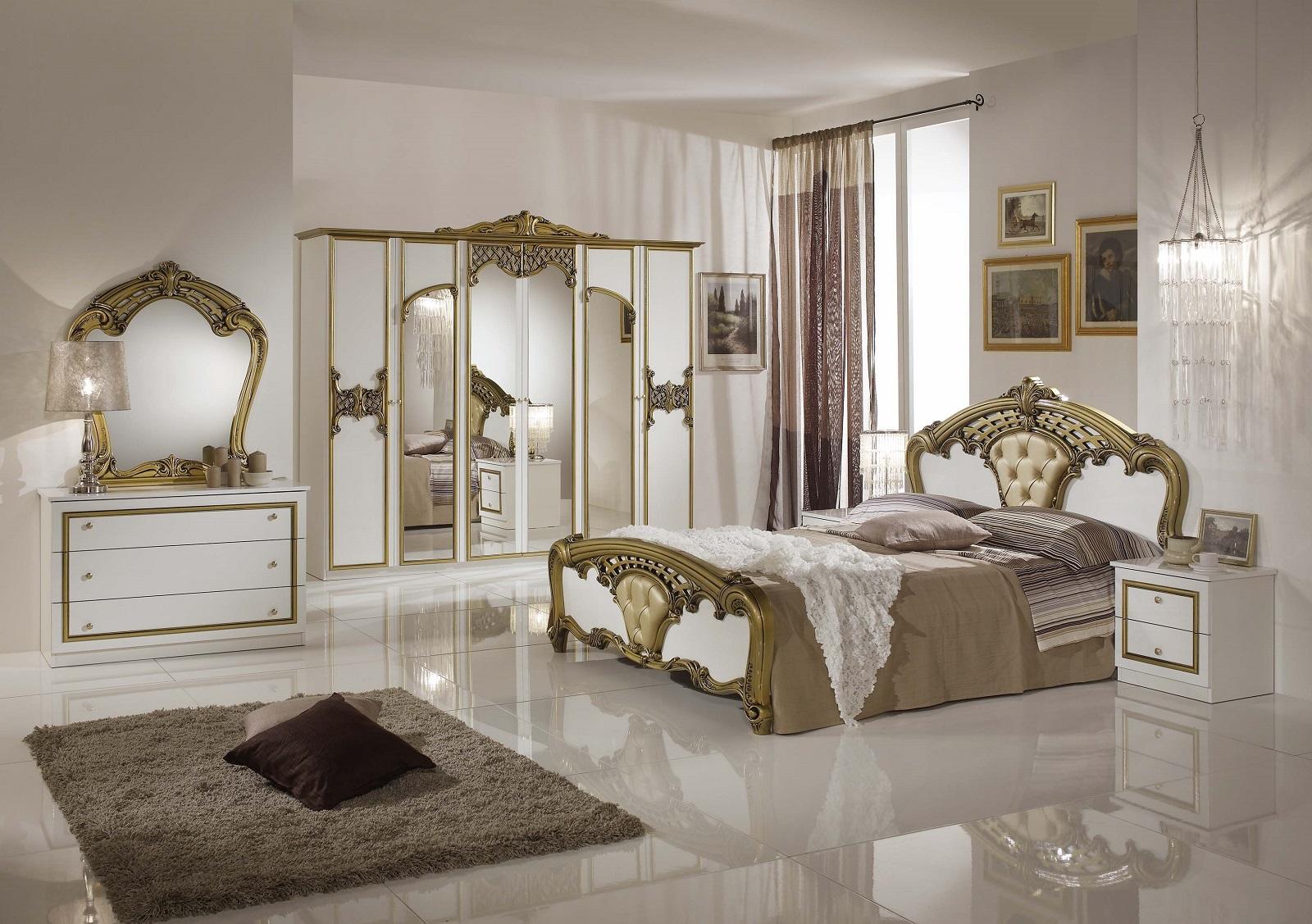 Eva Italian Bedroom Set (Ref: 1133) Complete Bedroom Set Including Mattress