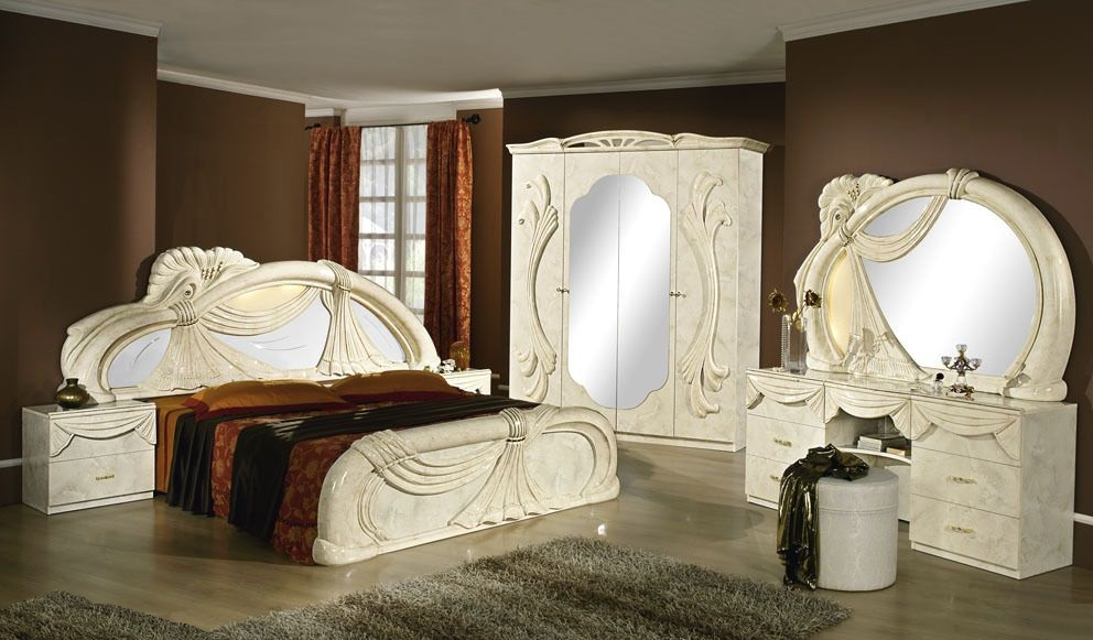 Italian furnitures - Gina Italian Bedroom Set
