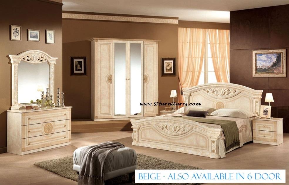 Roma Italian bedroom furniture set