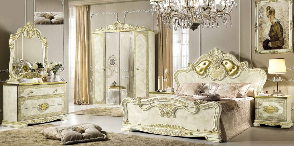 Italian furnitures - Leonardo Italian bedroom set