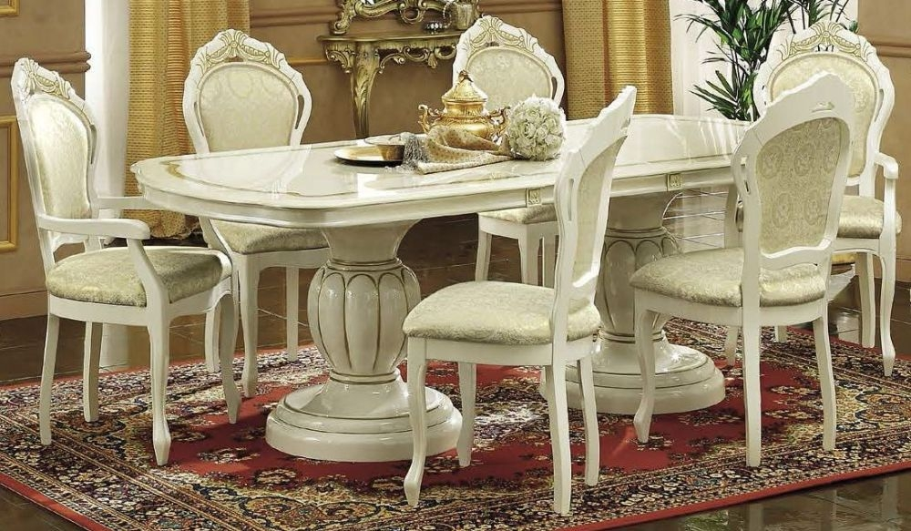 Italian Furnitures Leonardo Large Dining Table