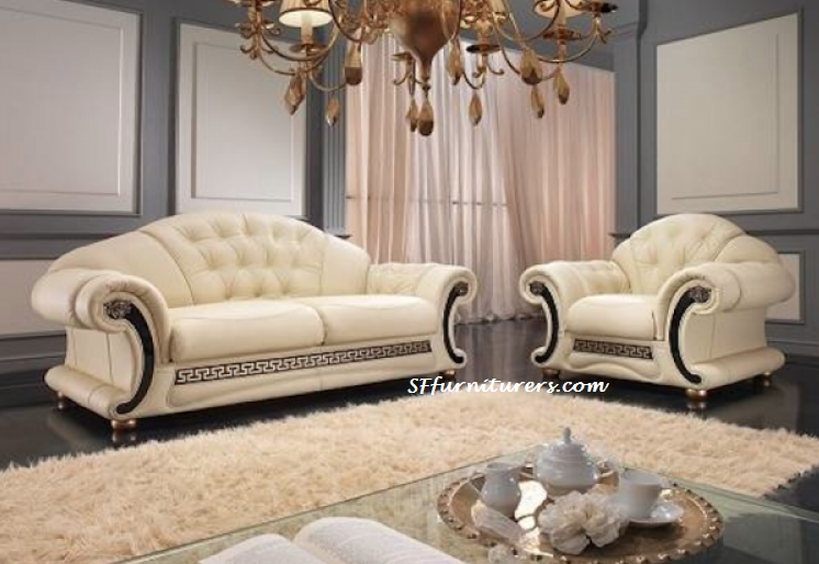 Fabulous Medusa Italian Design Leather Sofa The Versace With Hgk3bmjw