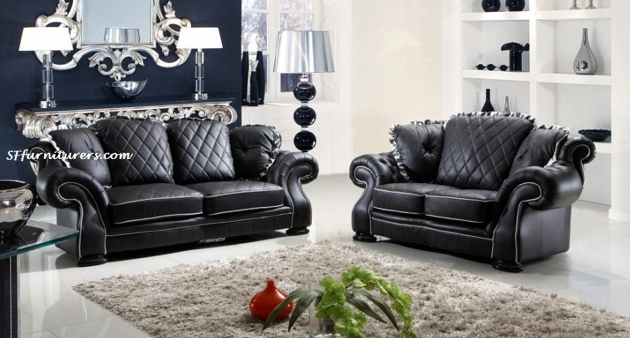 Diana Italian Design Leather Sofa