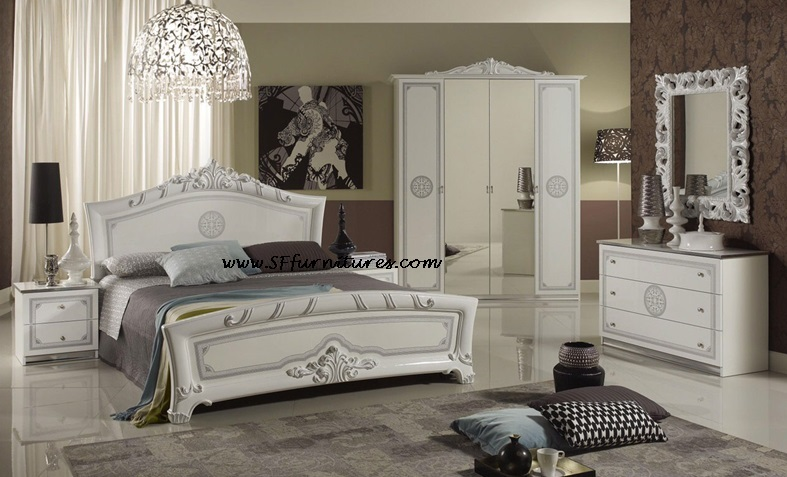 Luxury Italian Bedroom Set Decoration