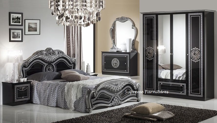 Impressive Italian Bedroom Set Decoration