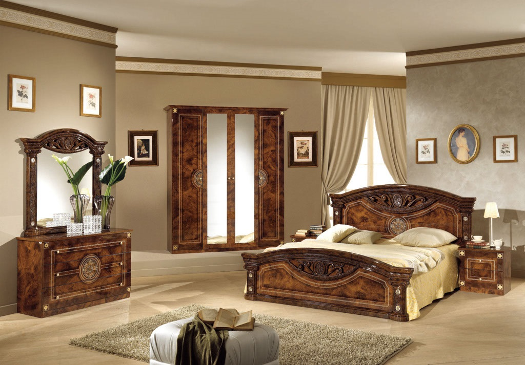 Wonderful Italian Bedroom Set Decoration Ideas