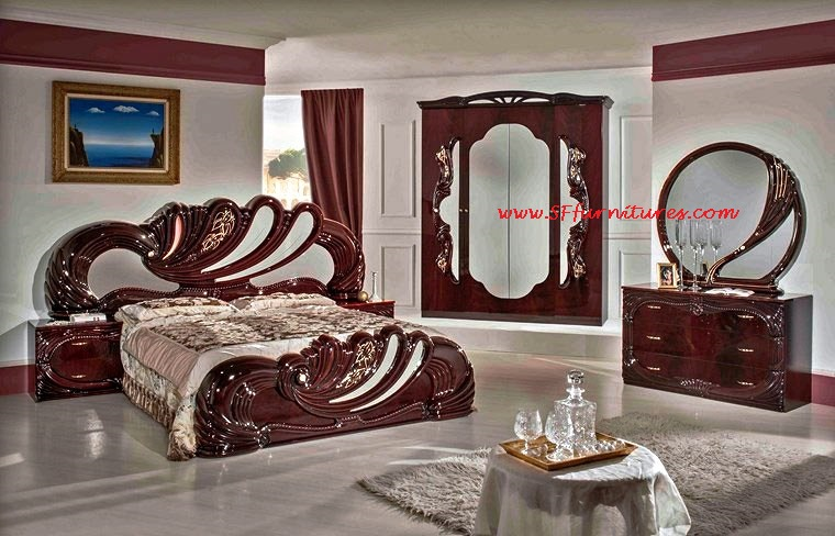 Vanity Italian Bedroom Furniture Collection